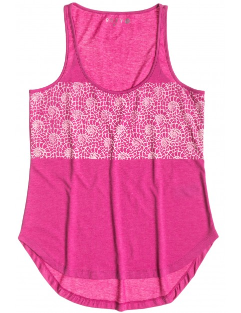 Roxy Basic Tank A Sleeveless T-Shirt in Berry Heather