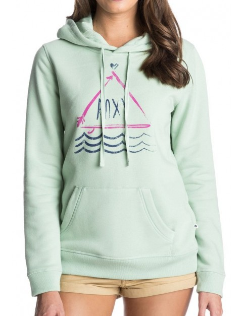 Roxy Gary Hoodie A Pullover Hoody in Sea Glass