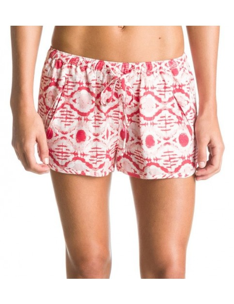 Roxy Run Away Fashion Shorts in Bloom Pink Eye Batik