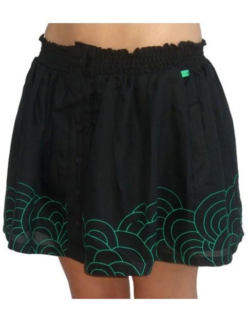 Roxy Zuma Birdie Skirt in Black