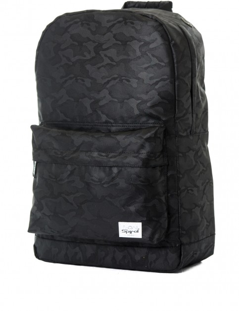 Spiral Camo Backpack in Blackout