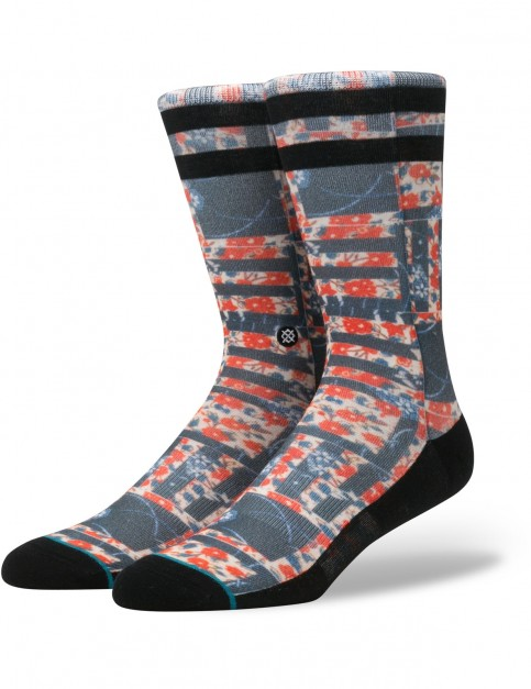 Stance Maize Crew Socks in Red