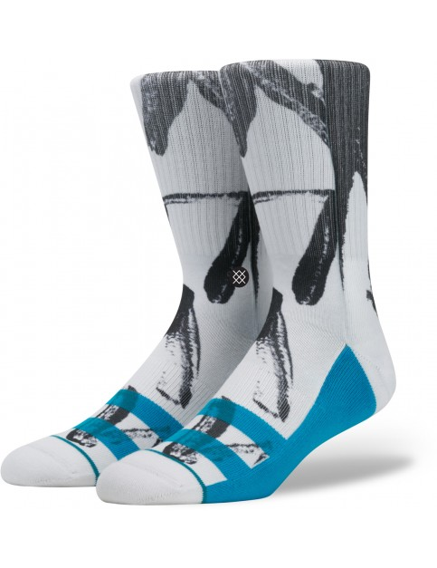 Stance Particle Socks in White