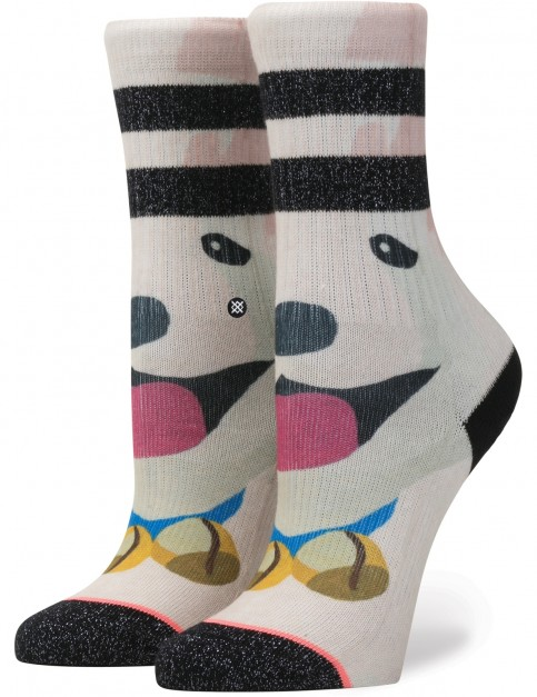 Stance Puppies Crew Socks in Black