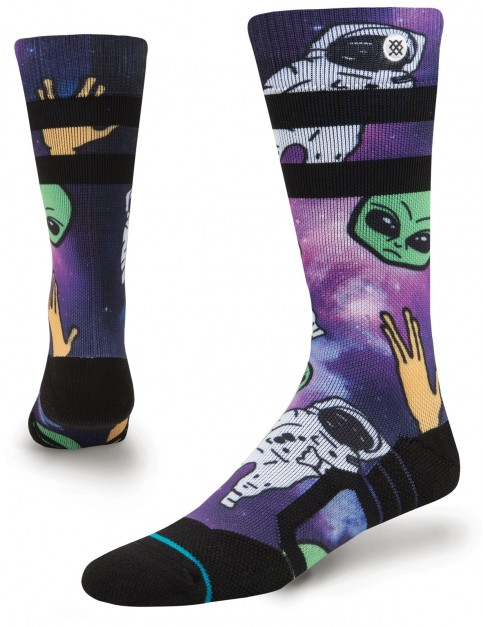 Stance Space Out Kids Snow Socks in Purple