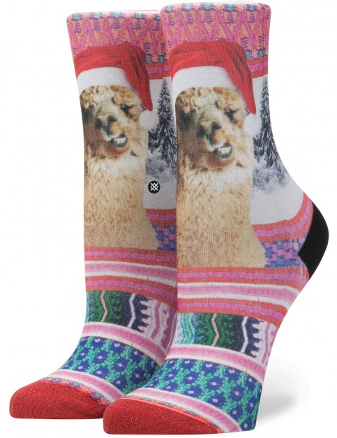 Stance Tinas Holiday Crew Socks in Multi