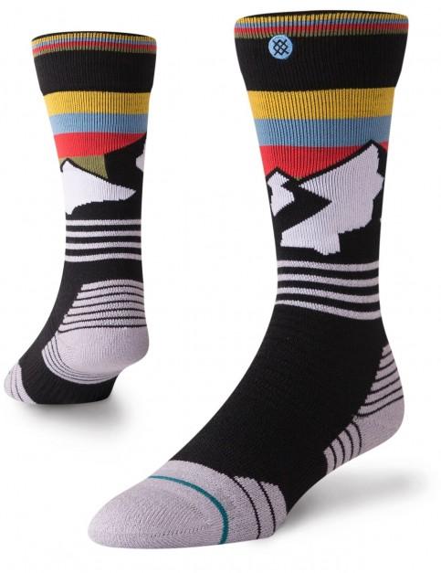Stance Wind Range Crew Socks in Black