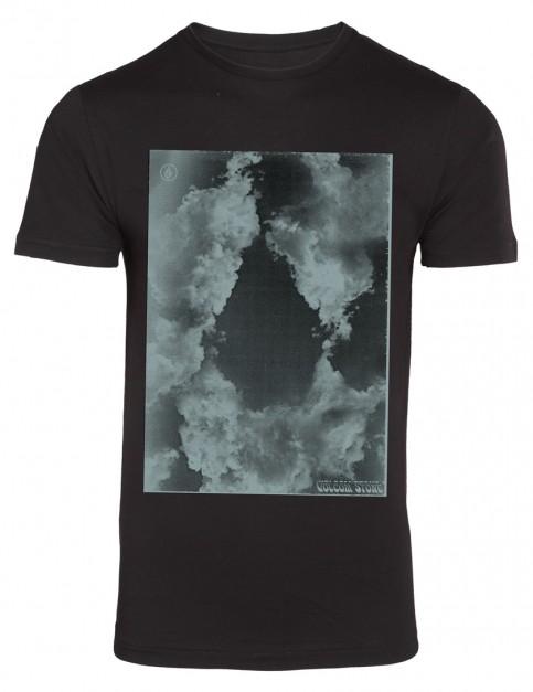 Volcom Cloud Stone Short Sleeve T-Shirt in Black