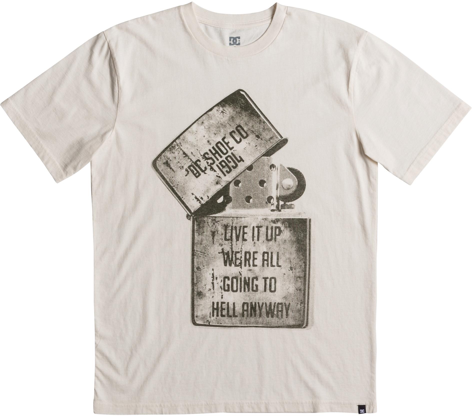 DC Short Sleeve T-Shirt White