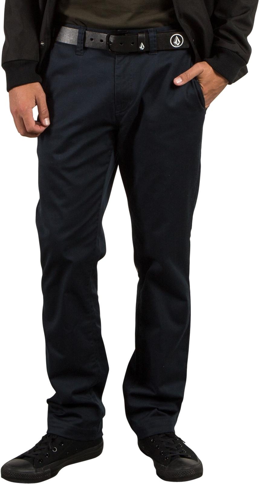 08ce36ac Volcom Frickin Modern Stret Chino Trousers in Dark Navy | hardcloud.com